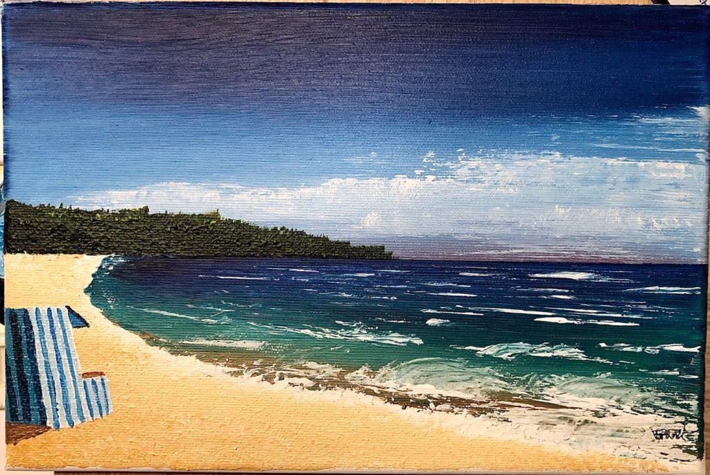 Acrylic Beach